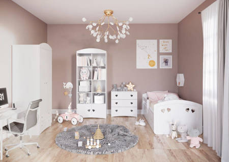 Julia white chest of drawers for a child's room | thomasmoebel.eu